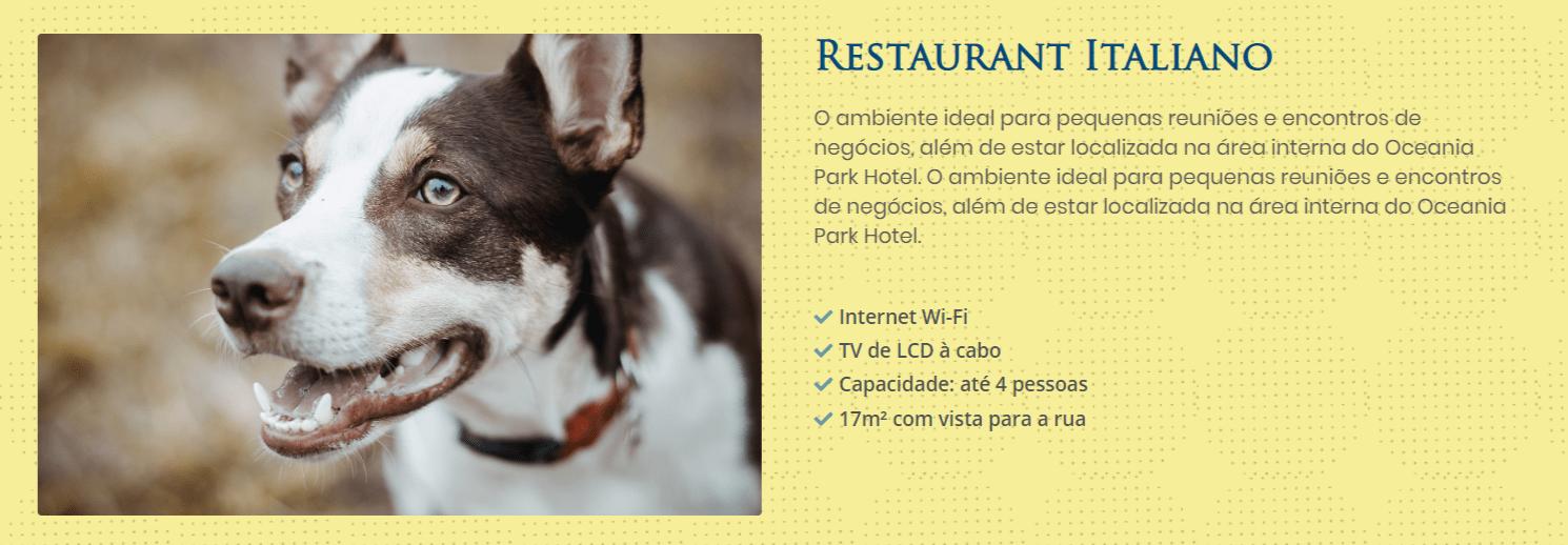 Landing page facilidades – Ocean Park Hotel Convention (1)
